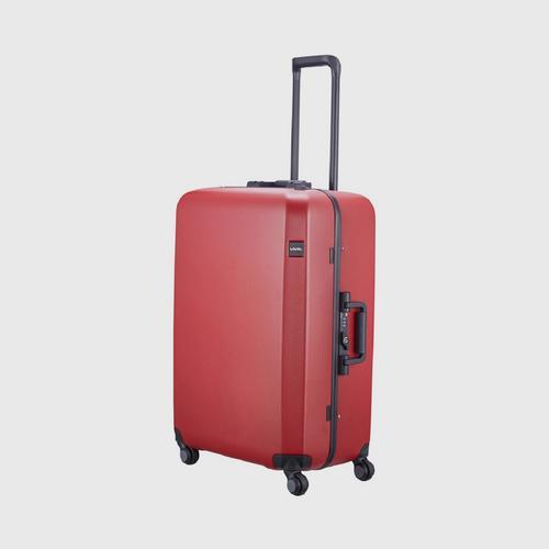 LOJEL Rando Medium 4 Wheels TSA Lock-Brick Red