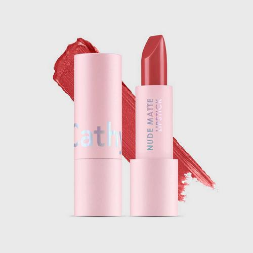 CATHY DOLL Nude Matte Lipstick 3.5g Cathy Doll (M) #10 Touch Coral