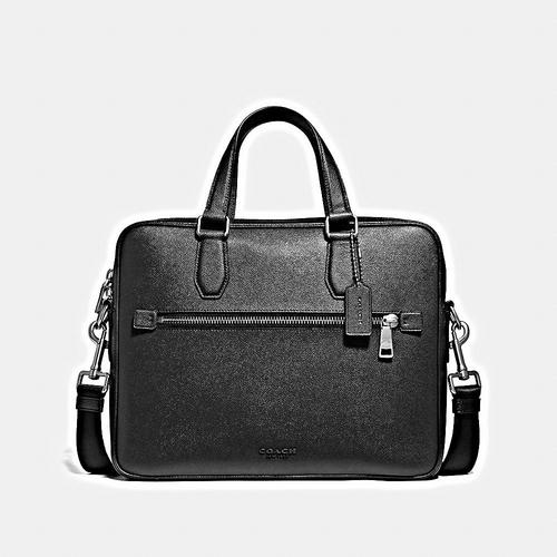 COACH Kennedy Brief in Crossgrain - SV/BLACK