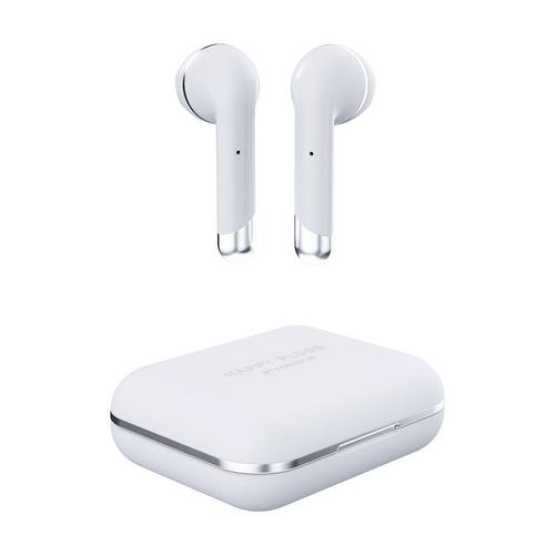 Happy Plugs Air 1 true wireless headphones - White