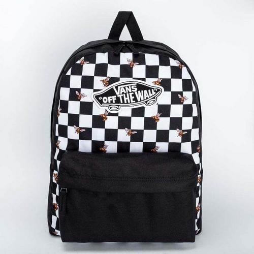 VANS REALM BACKPACK/OS/BEE CHECKER