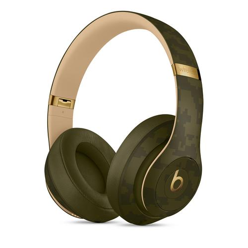 Beats Studio3 Wireless Over‑Ear Headphones -  Camo Collection Forest Green