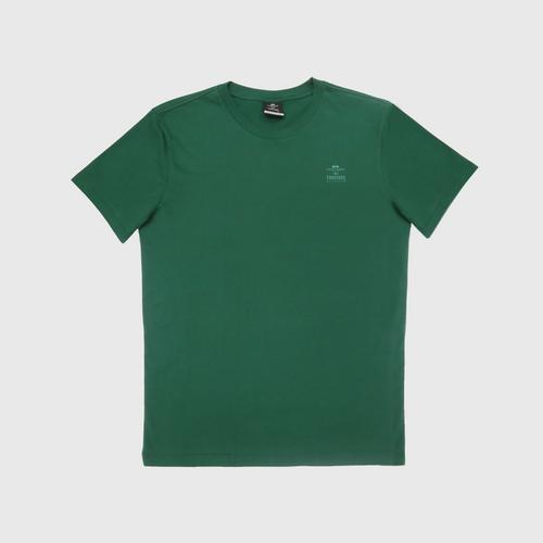 """Double Goose """"Thai Tone Collection"""" Crew Neck Solid T-Shirt - Khiaobaikae color Size S"""