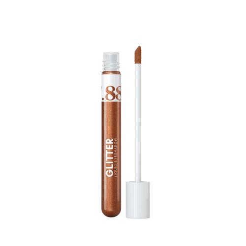 VER.88 Glitter Liquid Eyeshadow NO.04 Copper Latte 4.5g.