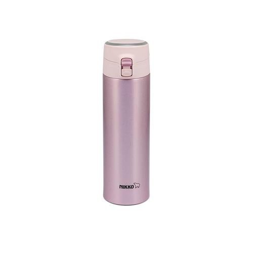 NIKKO Stainless Steel Vacuum Bottle 350 ml. OPB - Pink
