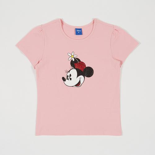 Disney Girl T-Shirt Minnie Pink-S