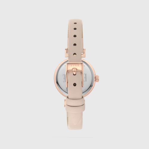 OdéonAnalog Pink皮革手表