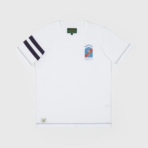 SANTA BARBARA T Shirt  WHITE SIZE S