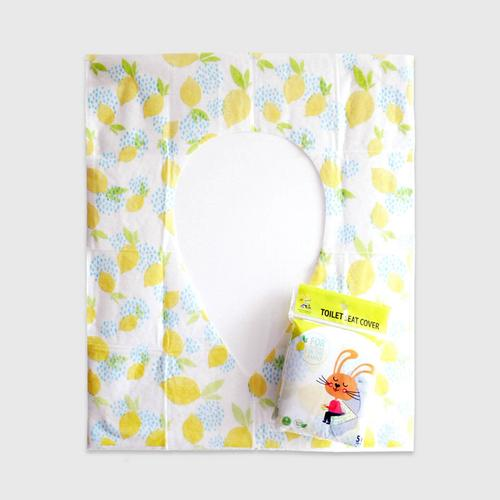 PEPPERMINT TOILET SEAT COVER (LEMON) 5 PCS 5 g.