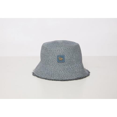CHATO STUDIO  Sicily Bucket Hat Stone  Blue  Head Round 56.5 cm.