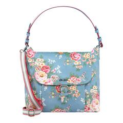 CATH KIDSTON CANDY FLOWERS BUCKLE SHOULDER BAG