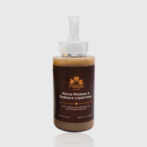 NAGA COSMETICS OTOP Mocca Moisture & Radiance Liquid Soap 300ml.