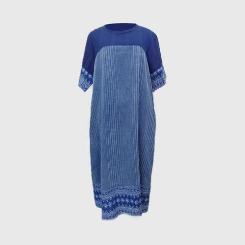 FAINGERNFAITHONG - Candle Writing Fabric Dress