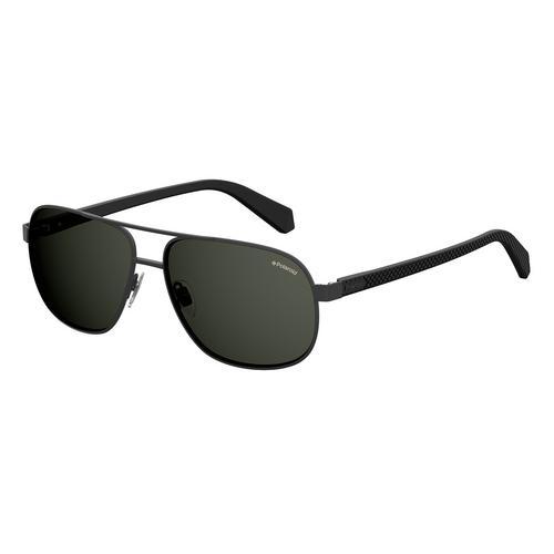 宝丽莱 (POLAROID) 男士太阳镜-黑色 PLD 2059/S Metal -60毫米