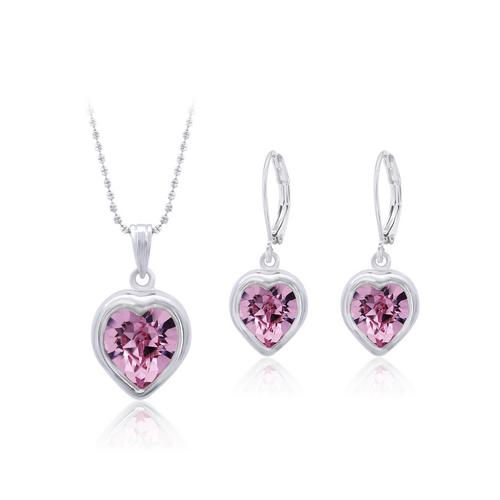 12VICTORY Pink Heart Set