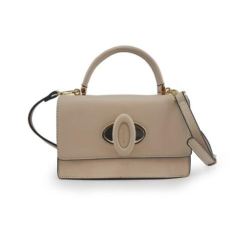 JACOB PU SHOULDER BAG(TAUPE)