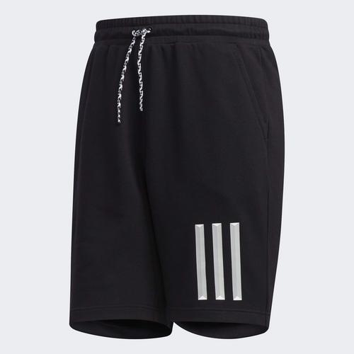 ADIDAS MEN 3-STRIPES SHORTS- SIZE L