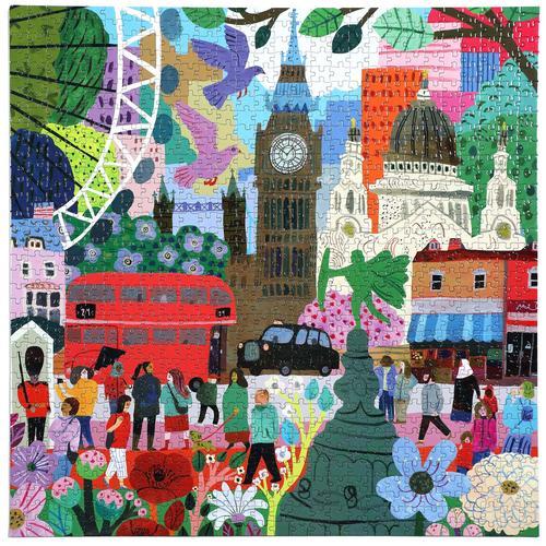 EEBOO - London Life 1000 Pc Sq Puzzle