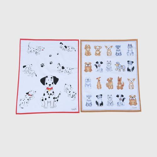 SAI JAI THAI Little Dog Napkin - pack 2