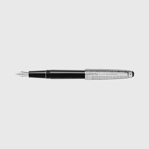 MONTBLANC Meisterstück UNICEF - Platinum-Coated Doué Classique Fountain Pen