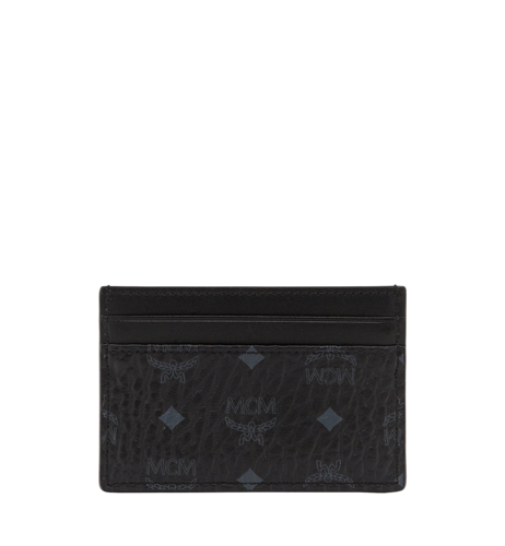 MCM VISETOS ORIGINAL CARD CASE - Black