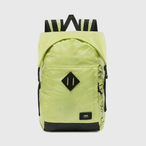 VANS FEND ROLL TOP BACKPACK/SUNNY LIME/OS