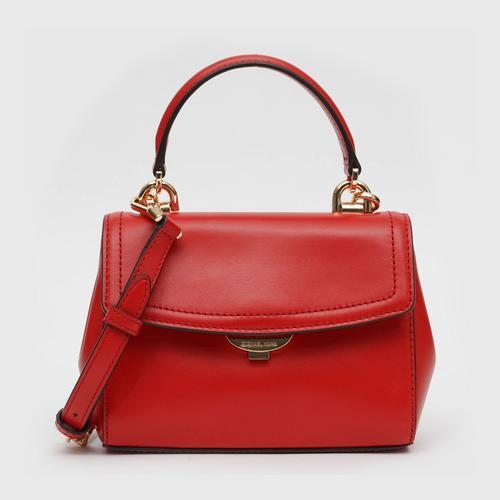 MICHAEL KORS Ava Extra - Small leather crossbody - Bright Red