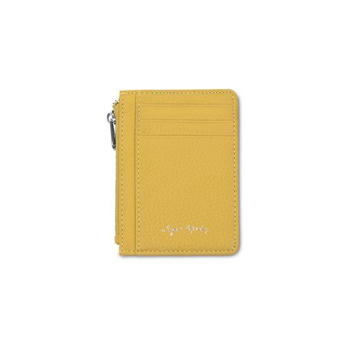 SUGAR MONDAY Genuine Leather May Wallet - Lemon