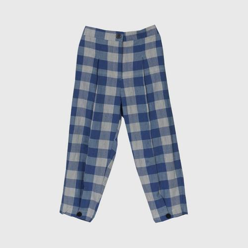 IMPANI: SongLung Pants. color Blue / white