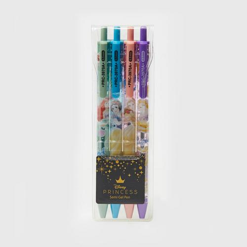 Disney Princess Semi Gel Pen Pack x4PCS (PRC-3970A-4)