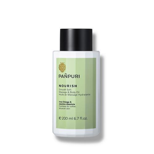 PANPURI NOURISH SMOOTH SOFT MASSAGE & BODY OIL 200ML 6.7 fl. oz.