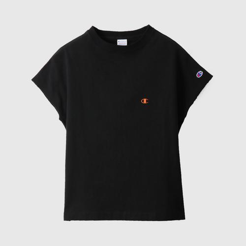 CHAMPION Women'S Sleeveless T-Shirt Black Size M