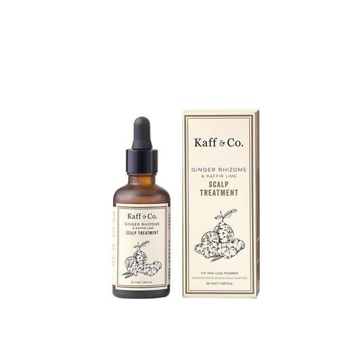 Kaff & Co. Ginger Rhizome & Kaffir Lime Essential Oil Scalp Treatment 50 ml.