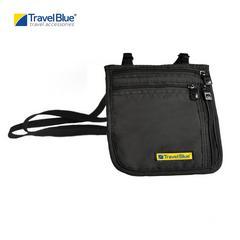 Travel Blue TB124 Ultra Slim Neck Carrier/Wallet - Black