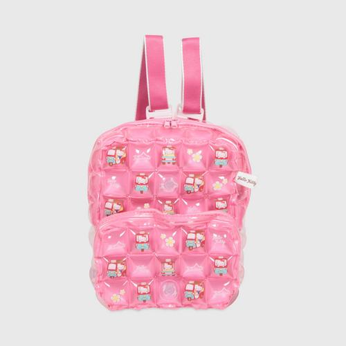 INFLAT DECOR Hello Kitty TUK TUK Backpack Square S - Blossom Pink