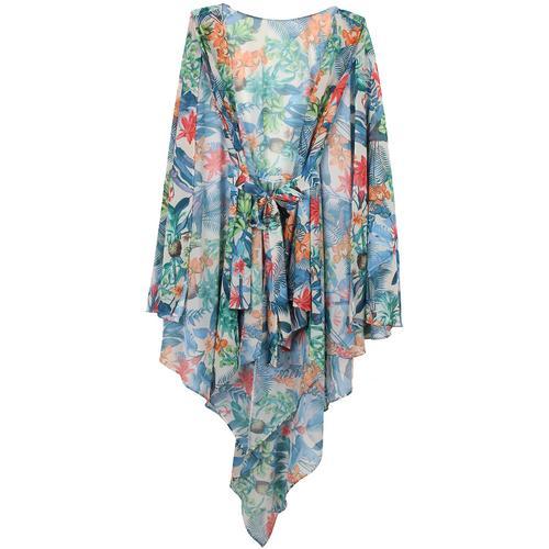 CRUISE Lace Robe 印花罩衫 - 均码