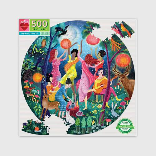 EEBOO - Moon Dance 500 Pc Round Puzzle