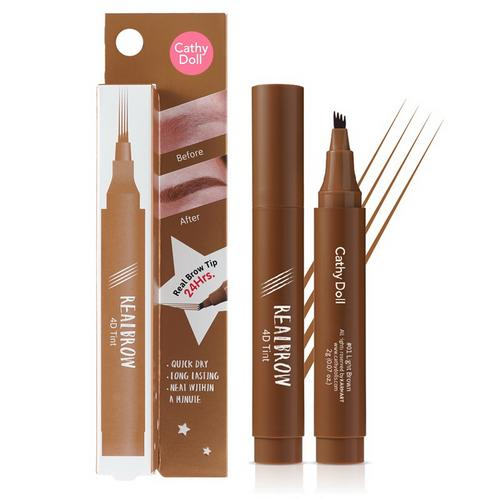 Cathy Doll Real Brow 4D Tint 2g #01 Light Brown