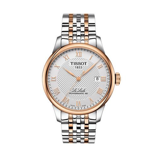 TISSOT Le Locle Gent Bi-Color  39.3 MM (White Dial)