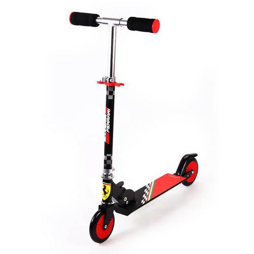 Mesuca Ferrari Kid 2 Wheels Scooter Black