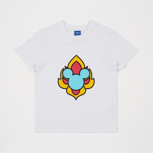 迪士尼 (Disney) 米老鼠男童T恤  白色 - XL码