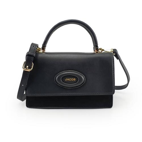 JACOB PU SHOULDER BAG (BLACK)
