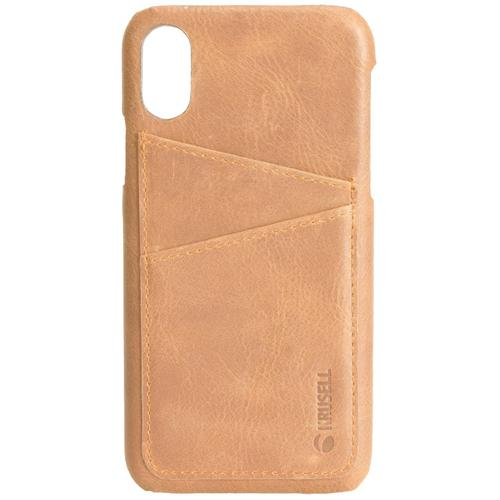 Krusell Sunne 2 Card Cover Apple iPhone Xs Max Vintage Nude