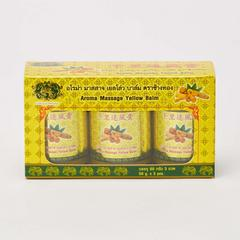 GOLD ELEPHANT YELLOW BALM (50G*3/box)