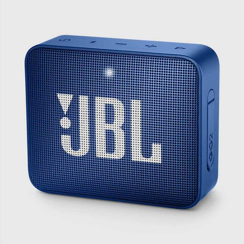 JBL GO 2 Portable Bluetooth Speaker (Blue)