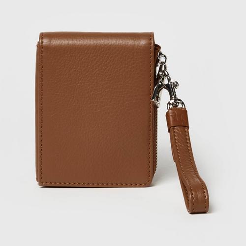 Longlai Mini Wallet Taupe Colour