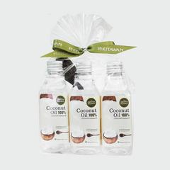 Phutawan Virgin Coconut Oil  Set 3 pcs (100 ml x 3 pcs.)