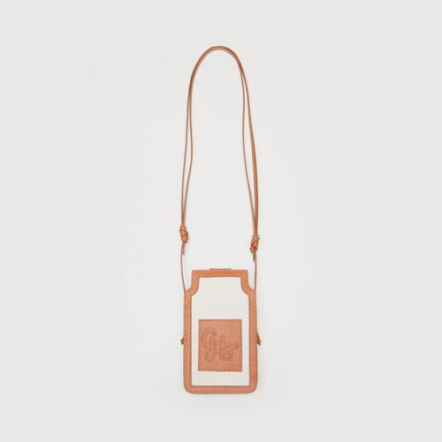 CHATO STUDIO Bora Mini Phone Holder-Brown