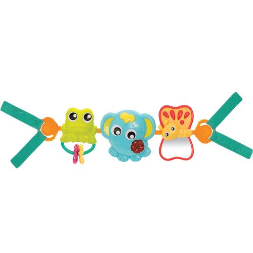 Playgro Travel Trio Musical Pram Tie
