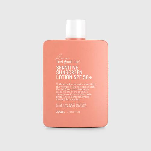 We Are Feel Good Inc. Sensitive Sunscreen Lotion SPF 50+ 200 ml.